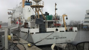 NOAA Thomas Jefferson at berth in Norfolk, VA, 2014.
